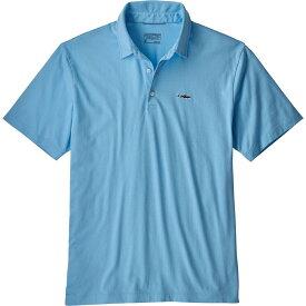 パタゴニア Patagonia メンズ ポロシャツ トップス【trout fitz roy polo shirt】Break Up Blue
