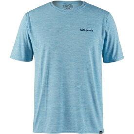 パタゴニア Patagonia メンズ ラッシュガード 水着・ビーチウェア【capilene cool daily graphic short sleeve rash guard】Break Up Blue