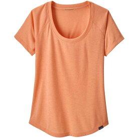 パタゴニア Patagonia レディース ブラウス・シャツ トップス【capilene cool trail shirt】Peach Sherbet