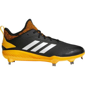 アディダス adidas メンズ 野球 スパイク シューズ・靴【adizero afterburner v metal baseball cleats】Black/Yellow