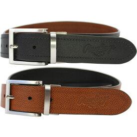 ローリングス Rawlings ユニセックス ベルト 【reversible leather belt】Black/Tan