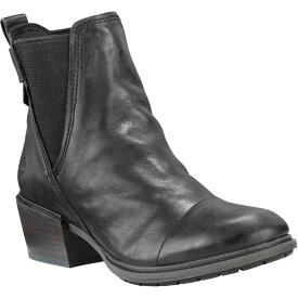 ティンバーランド Timberland レディース ブーツ チェルシーブーツ シューズ・靴【sutherlin bay chelsea casual boots】Black