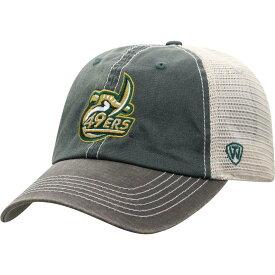 トップオブザワールド Top of the World メンズ キャップ 帽子【unc charlotte 49ers green/white off road adjustable hat】