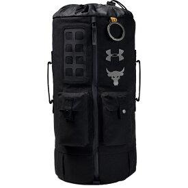 アンダーアーマー Under Armour メンズ バッグ 【project rock 60 gym bag】Black/Black