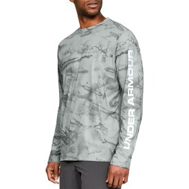 アンダーアーマー Under Armour メンズ 釣り・フィッシング トップス【shore break camo fishing long sleeve shirt】Grey