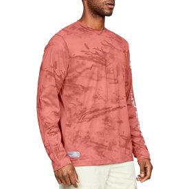 アンダーアーマー Under Armour メンズ 釣り・フィッシング トップス【shore break camo fishing long sleeve shirt】Orange