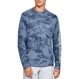 アンダーアーマー Under Armour メンズ 釣り・フィッシング トップス【shore break camo fishing long sleeve shirt】Thunder