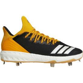 アディダス adidas メンズ 野球 スパイク シューズ・靴【icon 4 gum metal baseball cleats】Black/Yellow