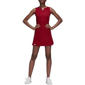 アディダス adidas レディース テニス ワンピース トップス【club tennis dress】Collegiate Burgundy