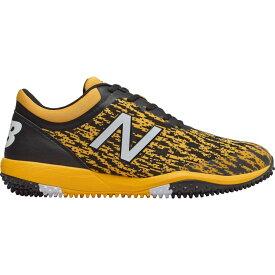 ニューバランス New Balance メンズ 野球 シューズ・靴【4040 v5 Turf Baseball Cleats】Black/Yellow