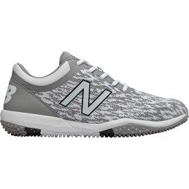 ニューバランス New Balance メンズ 野球 シューズ・靴【4040 v5 Turf Baseball Cleats】Grey/White