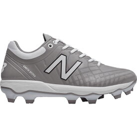 ニューバランス New Balance メンズ 野球 シューズ・靴【4040 v5 Baseball Cleats】Grey/White