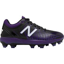 ニューバランス New Balance メンズ 野球 シューズ・靴【4040 v5 Baseball Cleats】Black/Purple