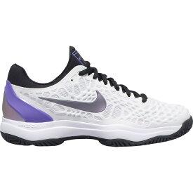 ナイキ Nike レディース テニス シューズ・靴【Zoom Cage 3 Tennis Shoes】White/Purple