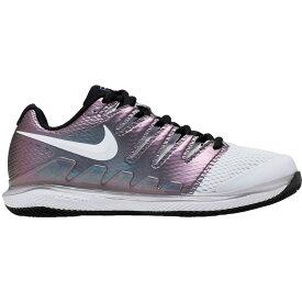 ナイキ Nike レディース テニス シューズ・靴【Air Zoom Vapor X Tennis Shoes】White/Black/Purple