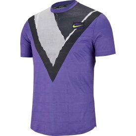 ナイキ Nike メンズ テニス トップス【Court Challenger Tennis T-Shirt】Psychic Purple/Volt