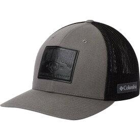 コロンビア Columbia メンズ 帽子【Rugged Outdoor Mesh Hat】Titanium/Black