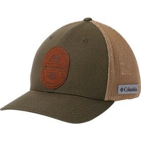 コロンビア Columbia メンズ 帽子【Rugged Outdoor Mesh Hat】Olive Green/Bluff
