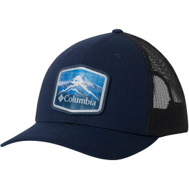 コロンビア Columbia メンズ 帽子【Mesh Snap Back Hat】Collegiate Navy/Hex Patch