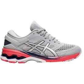 アシックス ASICS レディース ランニング・ウォーキング シューズ・靴【GEL-Kayano 26 Running Shoes】Grey/Pink
