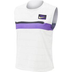 ナイキ Nike レディース テニス トップス【Court Slam Tennis Tank Top】White/Court Purple
