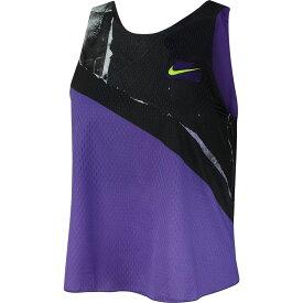 ナイキ Nike レディース テニス トップス【Court 2-in-1 Tennis Tank Top】Psychic Purple/Black