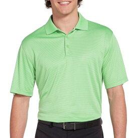 スラセンジャー Slazenger メンズ ゴルフ ポロシャツ トップス【Core Mini Stripe Golf Polo】Leaf Green