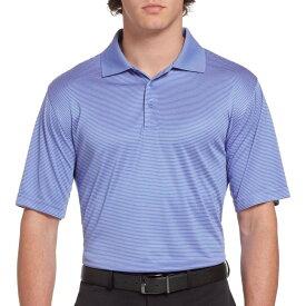 スラセンジャー Slazenger メンズ ゴルフ ポロシャツ トップス【Core Mini Stripe Golf Polo】Iris Blue