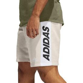 アディダス adidas メンズ ショートパンツ ボトムス・パンツ【Post Game Fleece Shorts】Linen