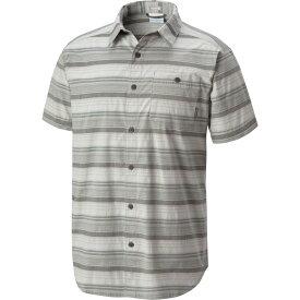 コロンビア Columbia メンズ トップス 【Boulder Ridge Short Sleeve Shirt】Columbia Grey Stripe