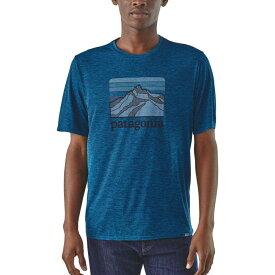 パタゴニア Patagonia メンズ トップス 【Capilene Cool Daily Graphic Shirt】Linelogordge/Bigsurblxdye
