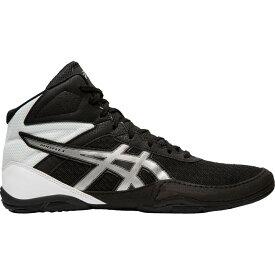 アシックス ASICS メンズ レスリング シューズ・靴【Matflex 6 Wrestling Shoes】Black/Silver