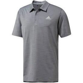 アディダス adidas メンズ ゴルフ ポロシャツ トップス【Ultimate365 Heather Golf Polo】Grey Three Heather
