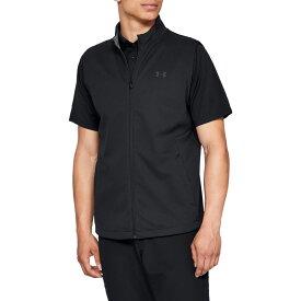 アンダーアーマー Under Armour メンズ ゴルフ ノースリーブ トップス【Storm Elements Golf Vest】Black