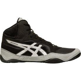 アシックス ASICS メンズ レスリング シューズ・靴【Snapdown 2 Wrestling Shoes】Black/Silver