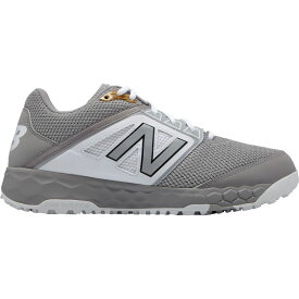 ニューバランス New Balance メンズ 野球 スパイク シューズ・靴【3000 V4 Turf Baseball Cleats】Grey/White