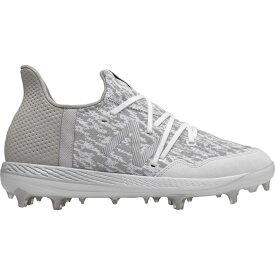 ニューバランス New Balance メンズ 野球 スパイク シューズ・靴【Cypher 12 La Familia Baseball Cleats】White/Grey