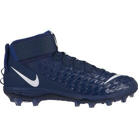 ナイキ Nike メンズ アメリカンフットボール スパイク シューズ・靴【Force Savage Pro 2 Mid Football Cleats】Navy/White