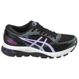アシックス ASICS レディース ランニング・ウォーキング シューズ・靴【Gel-Nimbus 21 Running Shoes】Black/Purple/Blue