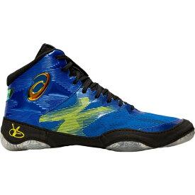 アシックス ASICS メンズ レスリング シューズ・靴【JB Elite IV Wrestling Shoes】Blue/Black