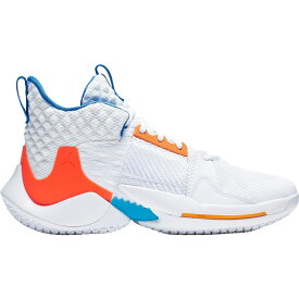 ナイキ ジョーダン Jordan メンズ バスケットボール シューズ・靴【Why Not Zer0.2 Basketball Shoes】White/Blue