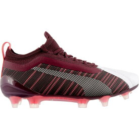 プーマ PUMA レディース サッカー スパイク シューズ・靴【ONE 5.1 FG/AG Soccer Cleats】White/Red