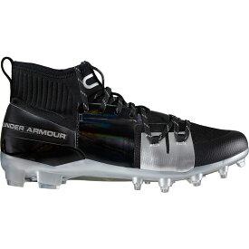アンダーアーマー Under Armour メンズ アメリカンフットボール スパイク シューズ・靴【C1N MC Football Cleats】Black/Silver