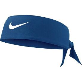 ナイキ Nike レディース ヘアアクセサリー ドライフィット ヘッドタイ【Dri-FIT 3.0 Head Tie】Navy/White