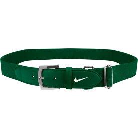 ナイキ Nike ユニセックス 野球 ベルト【Adult Baseball Belt 2.0】Green/White