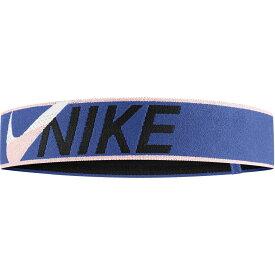 ナイキ Nike レディース ヘアアクセサリー ヘッドバンド【Elastic Cross Stitch Headband】Mystic Navy/Echo Pink