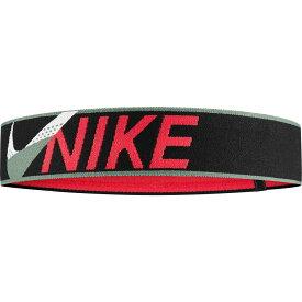 ナイキ Nike レディース ヘアアクセサリー ヘッドバンド【Elastic Cross Stitch Headband】Black/Red