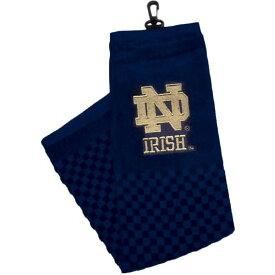チームゴルフ Team Golf ユニセックス ゴルフ タオル【Notre Dame Fighting Irish Embroidered Towel】