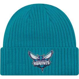 ニューエラ New Era メンズ ニット 帽子【Charlotte Hornets Core Classic Knit Hat】