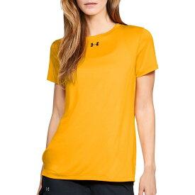 アンダーアーマー Under Armour レディース Tシャツ トップス【Locker 2.0 T-Shirt】Steeltown Gold